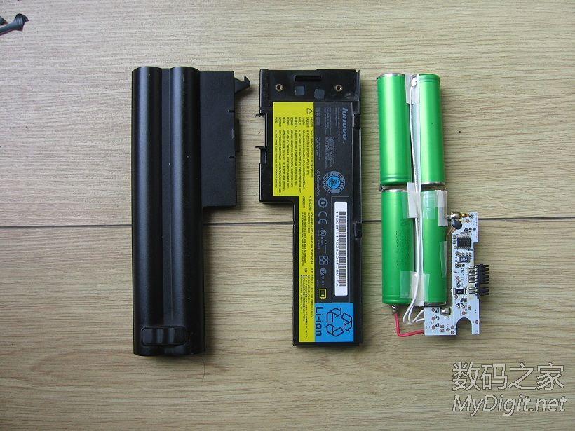 ThinkPad X61笔记本电池拆2